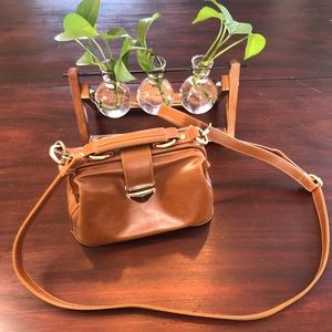 Doctors bag style purse